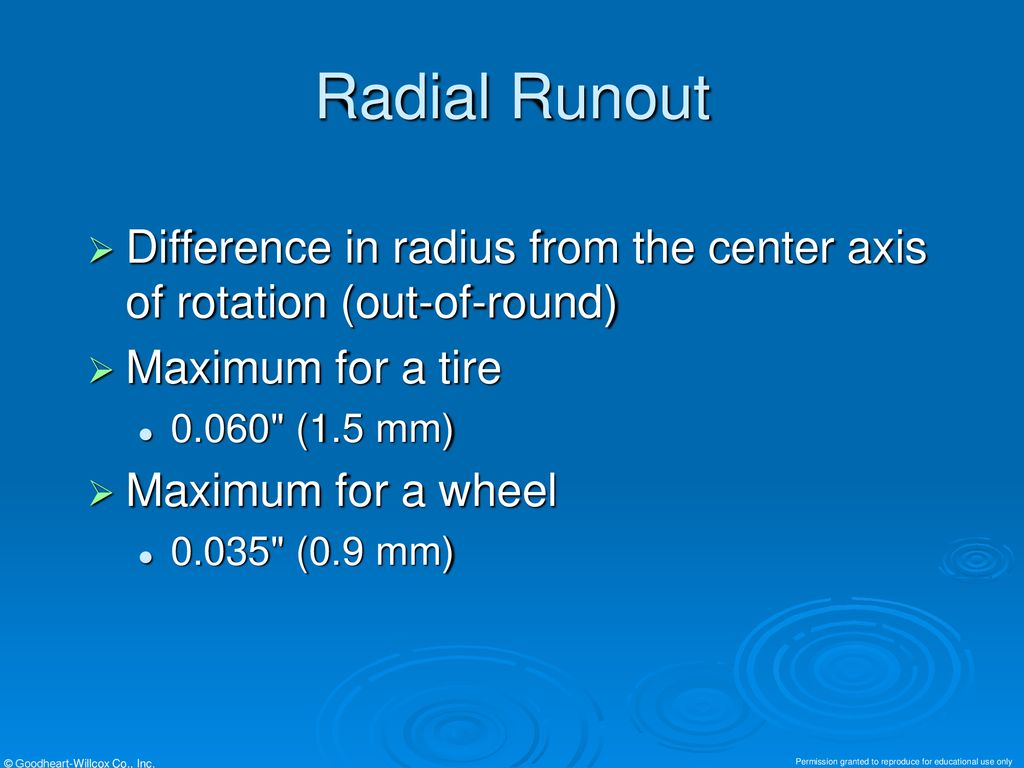 Chapter 66 Tire, Wheel, and Wheel Bearing Service  - ppt