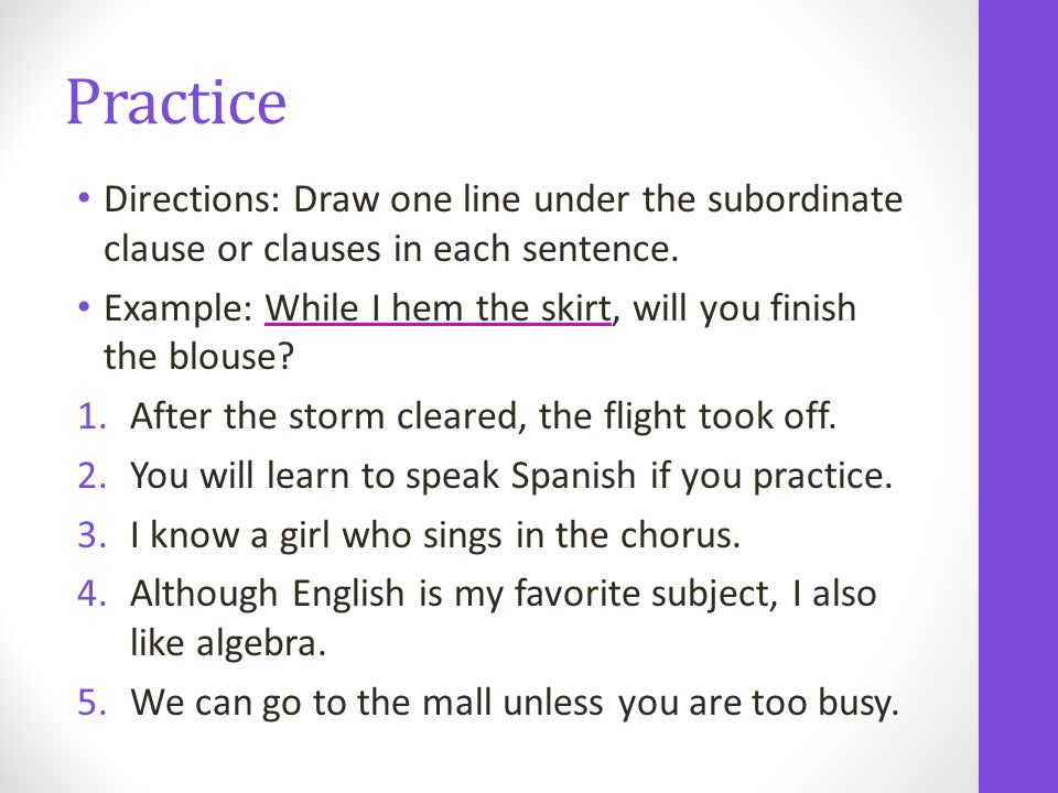 Unit 4 Clauses And Sentence Structure Ppt Download