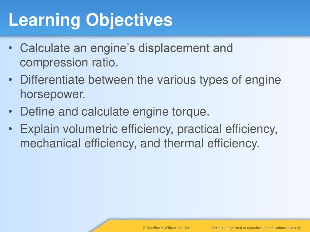 7 Measuring Engine Performance  7 Measuring Engine