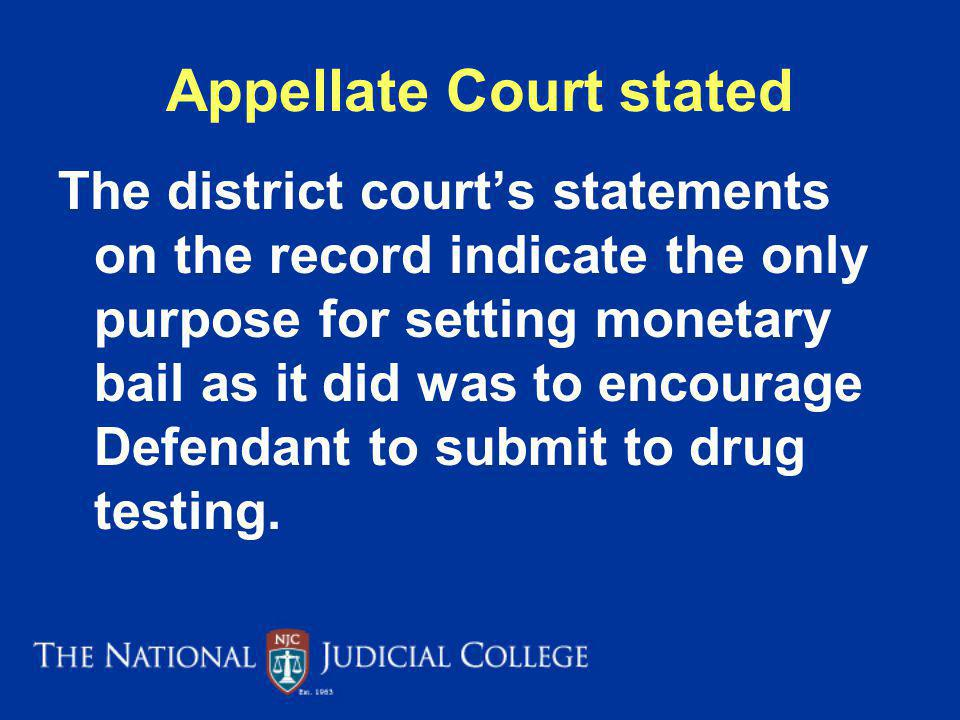 Appellate Court stated