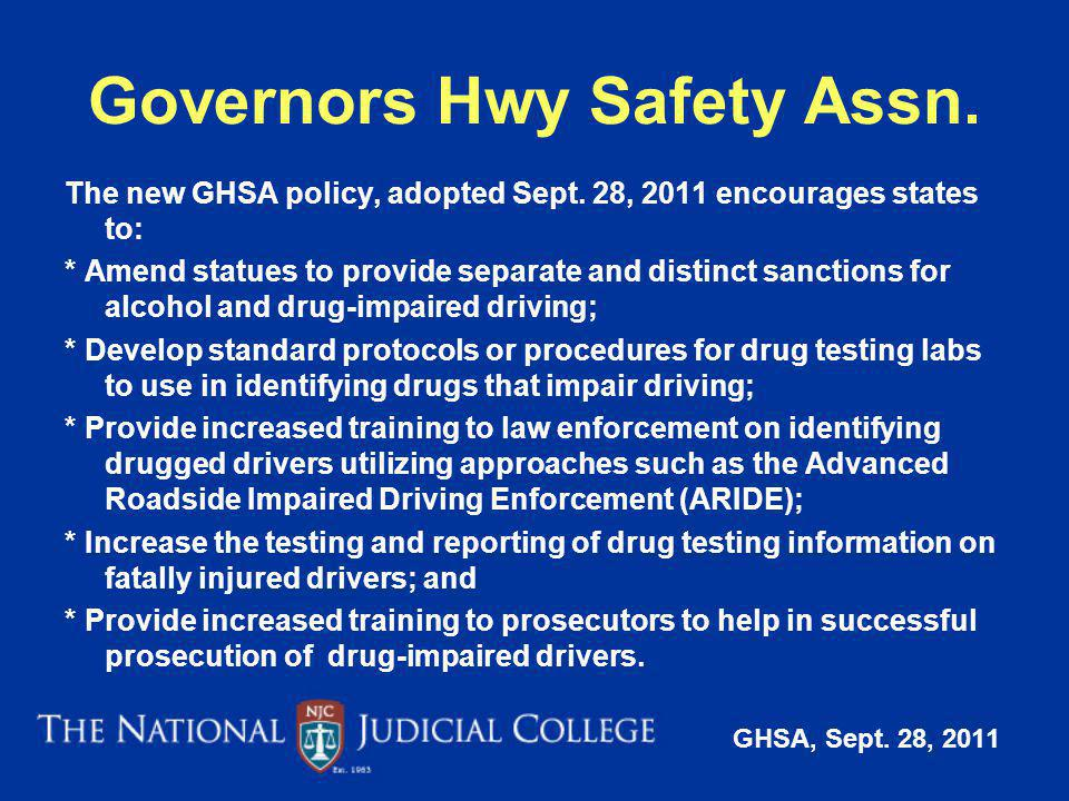 Governors Hwy Safety Assn.