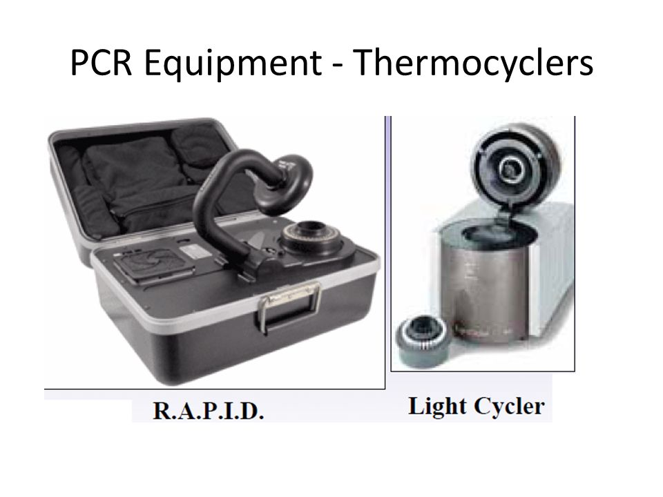 PCR Equipment - Thermocyclers
