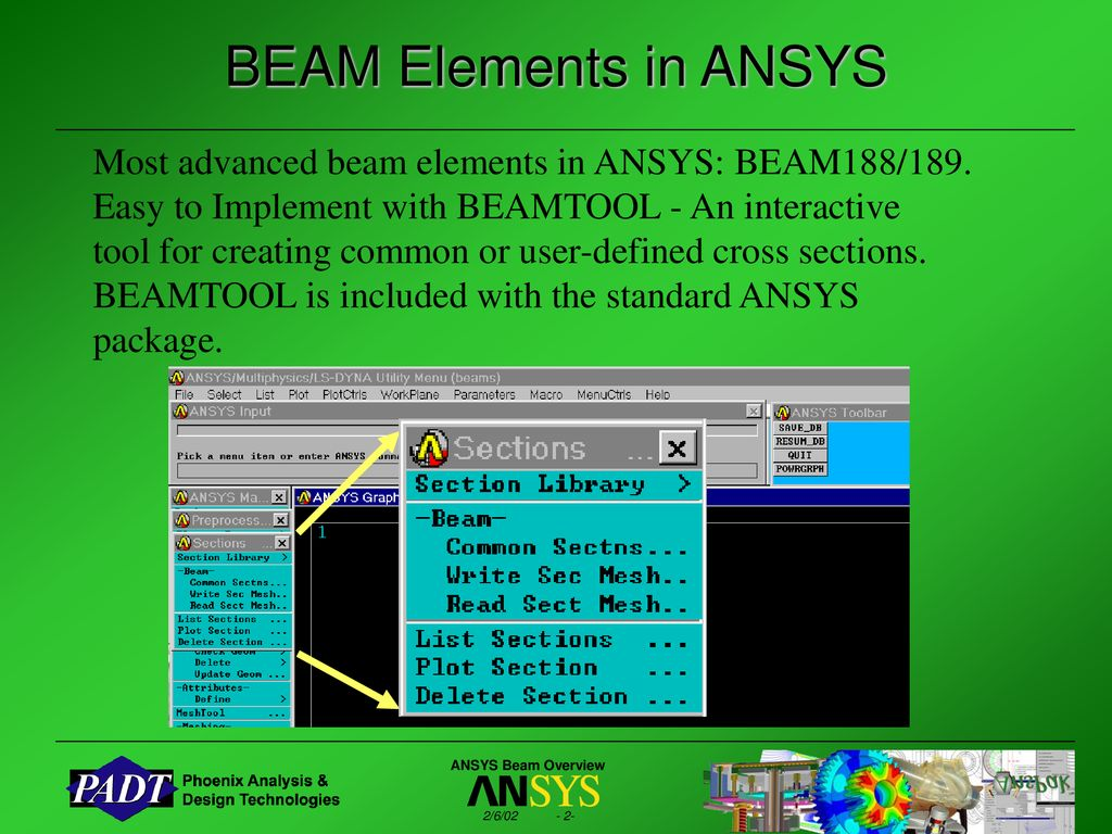 Beam Analysis with ANSYS - ppt download