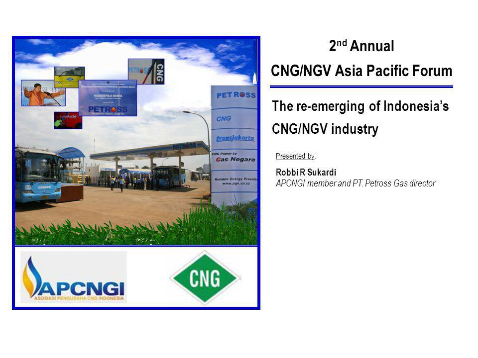 CNG/NGV Asia Pacific Forum