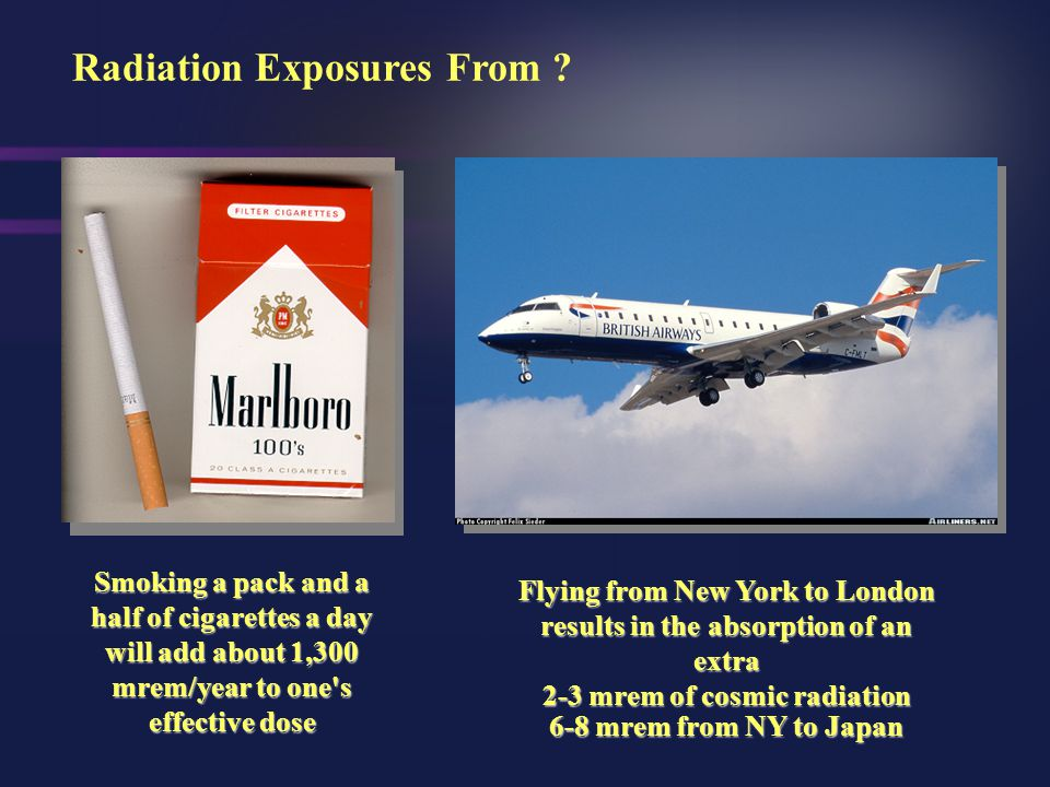 Radiation Exposures From