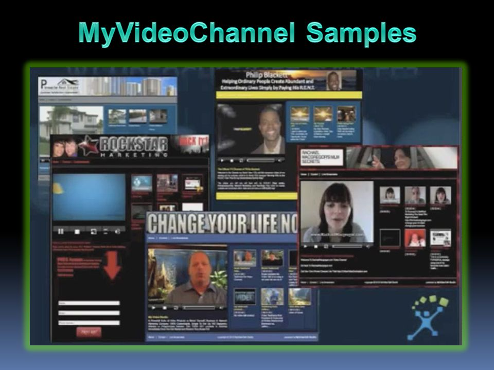 MyVideoChannel Samples