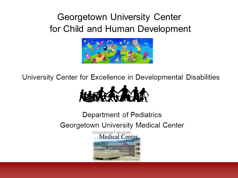 Georgetown University Center for Child and Human Development