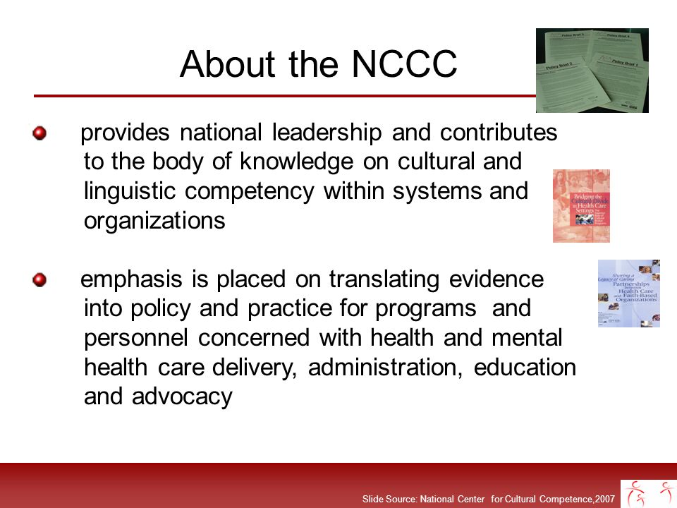 About the NCCC provides national leadership and contributes