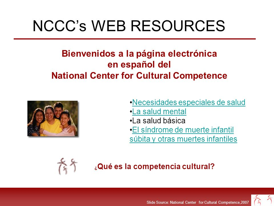 NCCC's WEB RESOURCES en español del