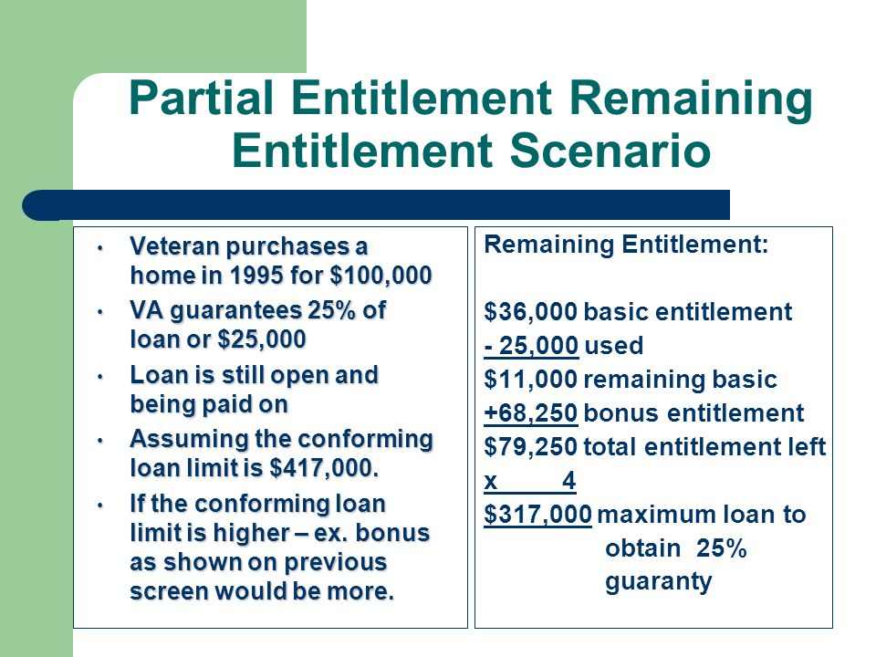 va guaranteed home loans - ppt download