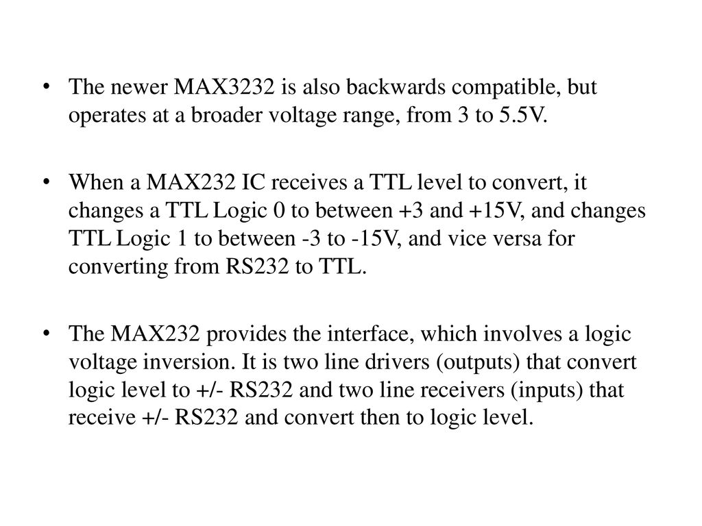 Introduction Existing Problem Ppt Download Ttl Rs232 Level Converter Using Max232 Ic 29 The