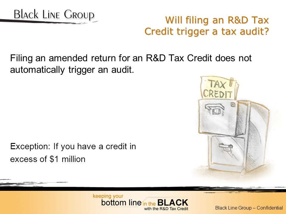 Will filing an R&D Tax Credit trigger a tax audit