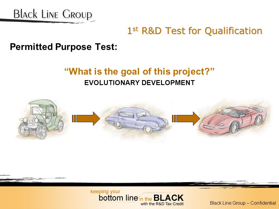 1st R&D Test for Qualification