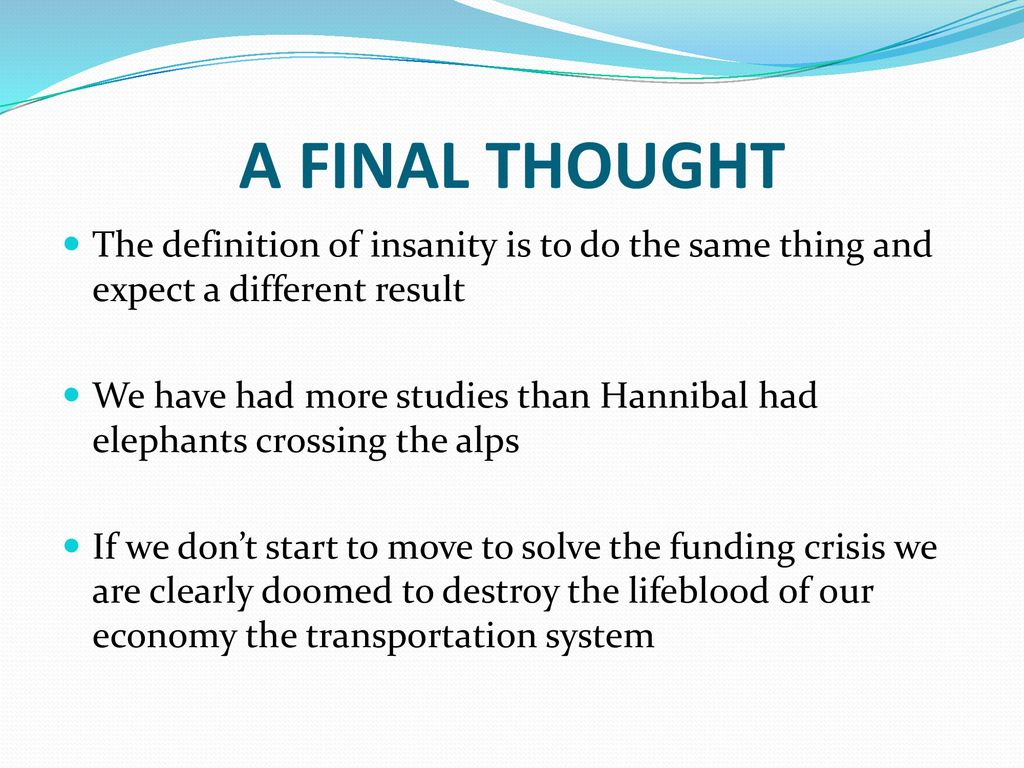 final thought definition