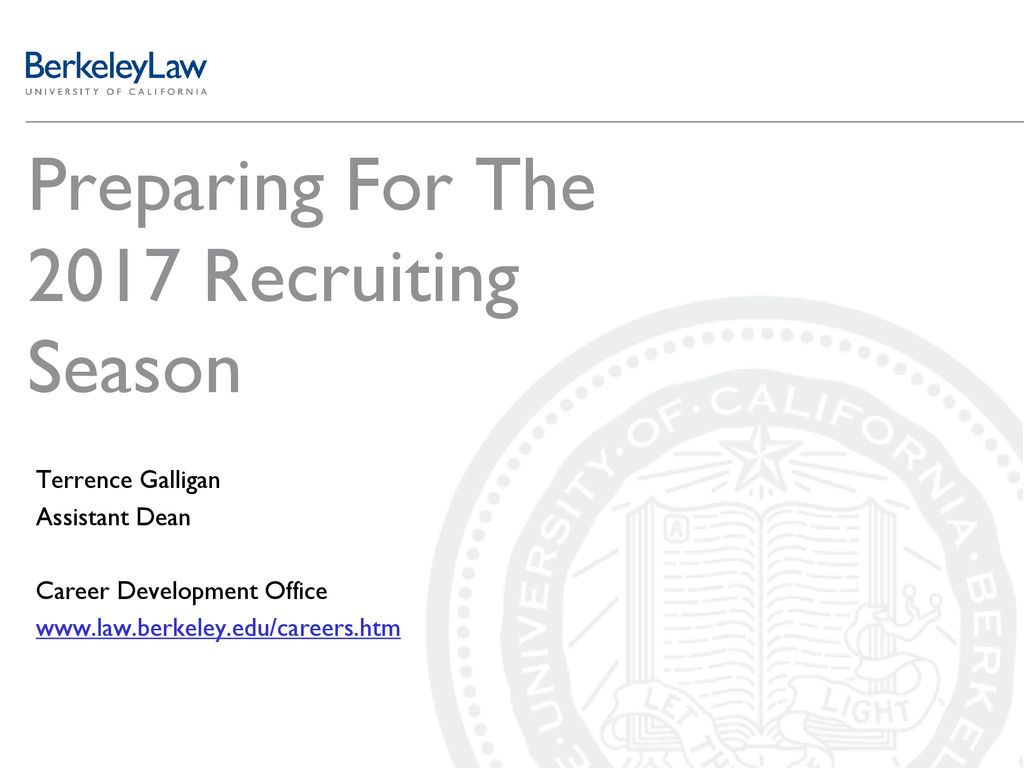 Preparing For The 2017 Recruiting Season - ppt download