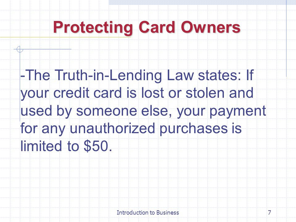 27 chapter your credit and the law ppt download protecting card owners 8 equal credit opportunity act reheart Images