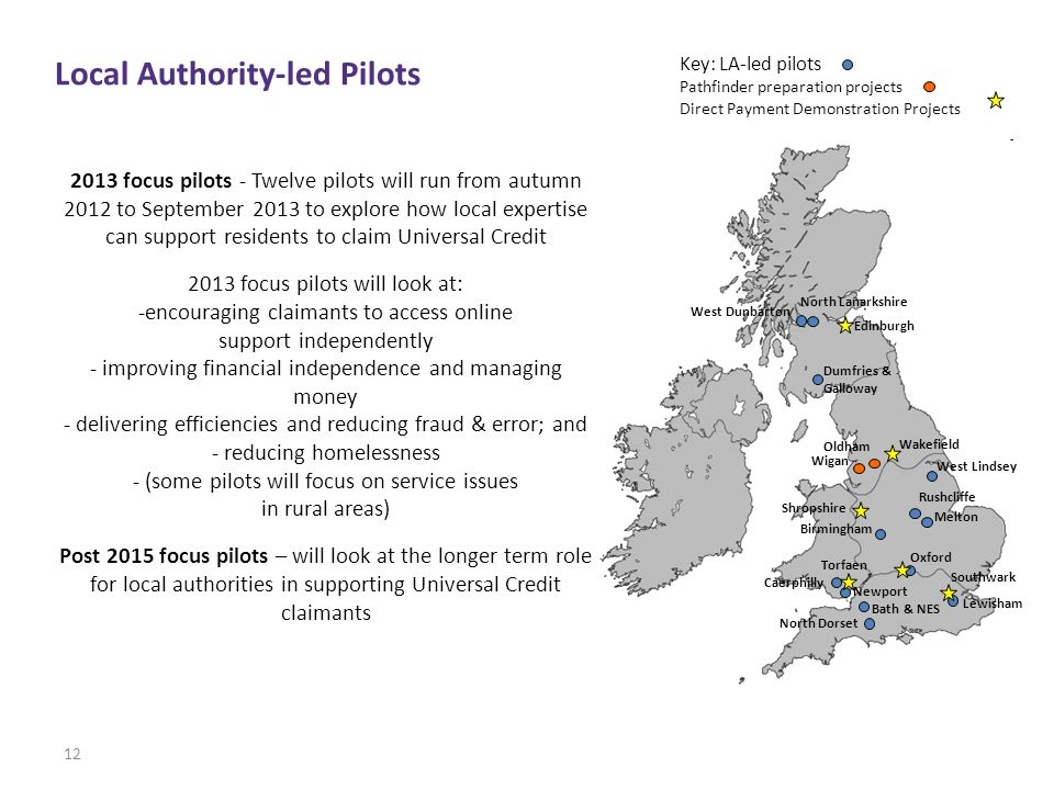Local Authority-led Pilots