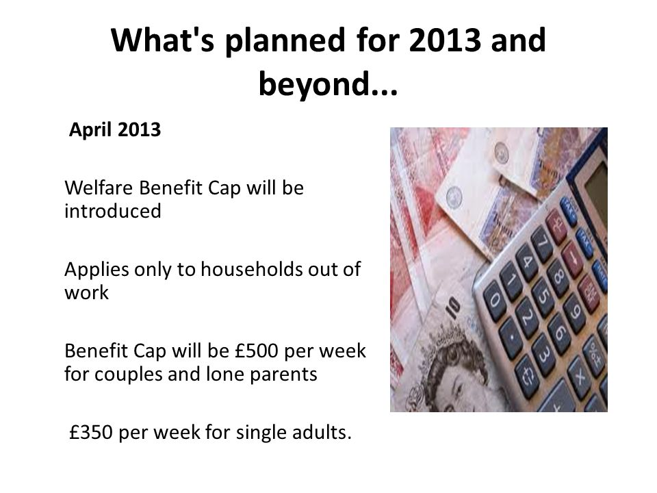 What s planned for 2013 and beyond...