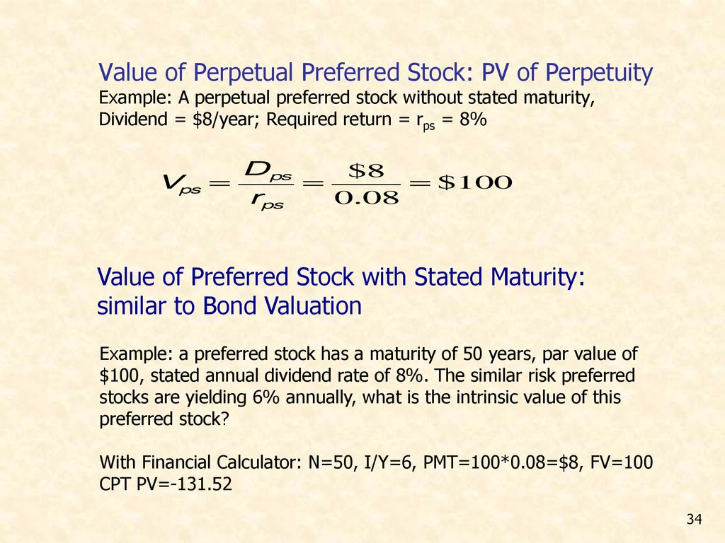 Corporate Valuation) and Stock Valuation - ppt download