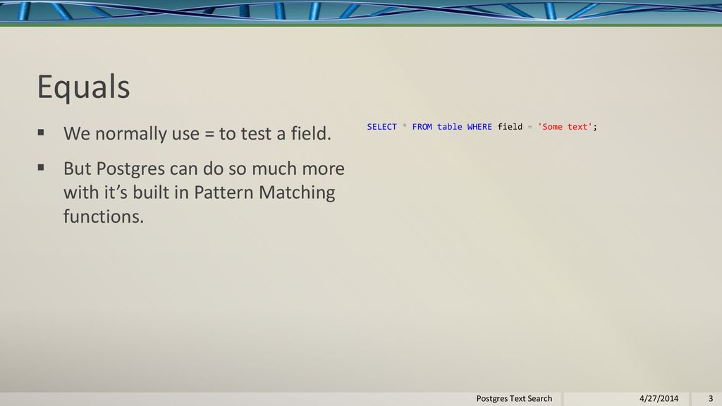 Postgres Text Search By Lloyd Albin Postgres Text Search 4