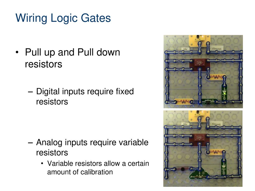 Introduction To Wiring Logic Gates Ppt Download Variable Resistor 10