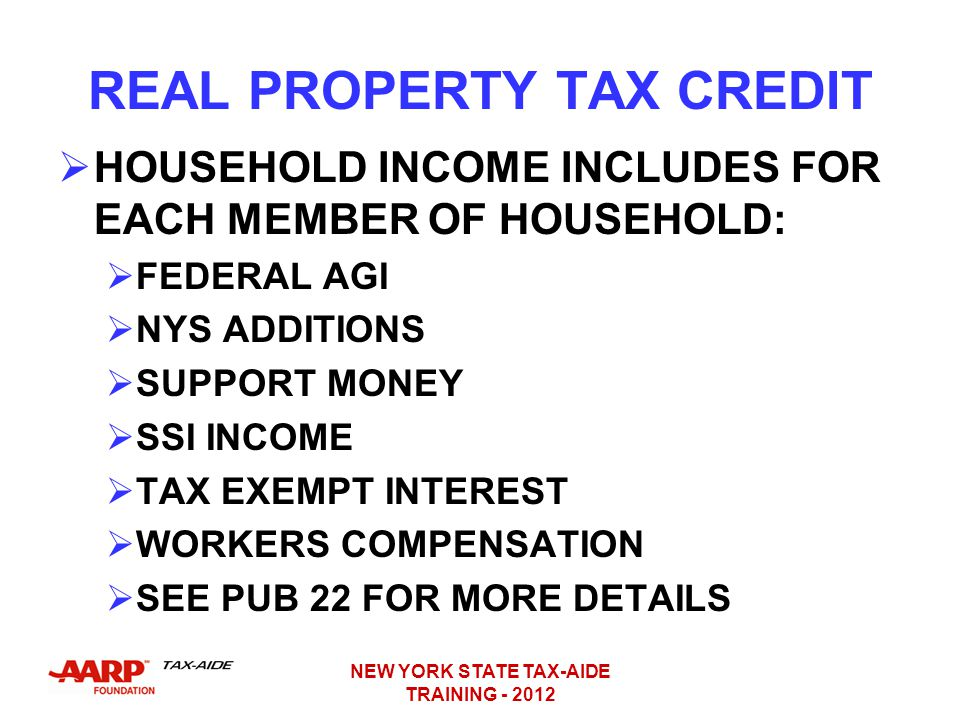 Nys Enhanced Real Property Tax Credit