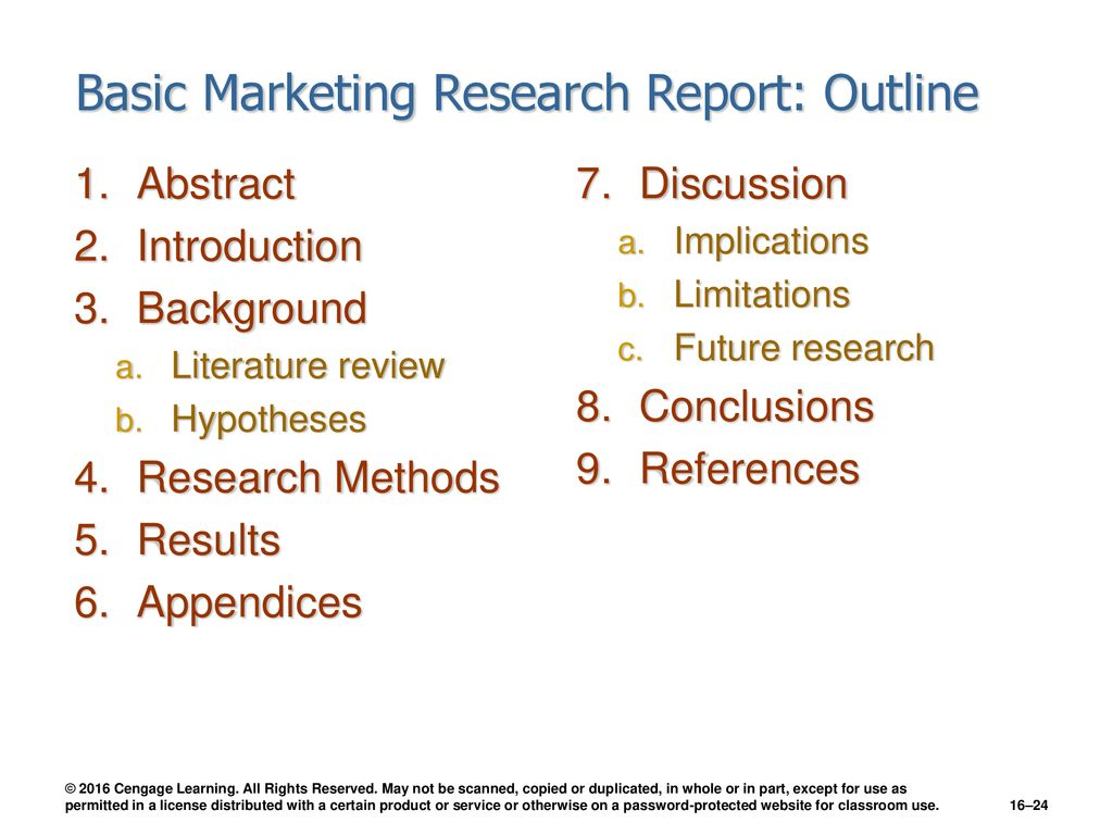 Communicating Research Results - ppt download