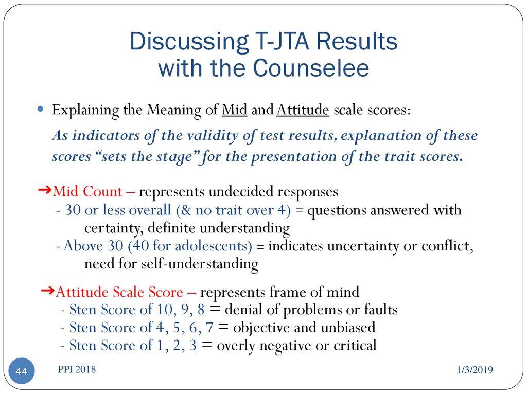 T-JTA® Authorized Instruction - ppt download