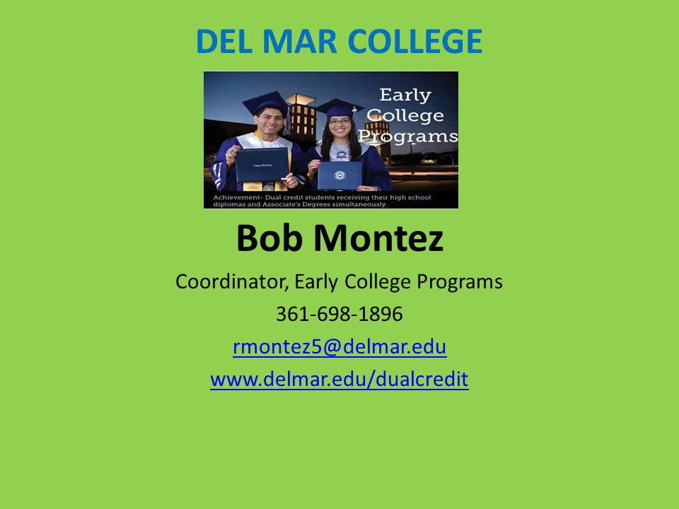 Coordinator, Early College Programs