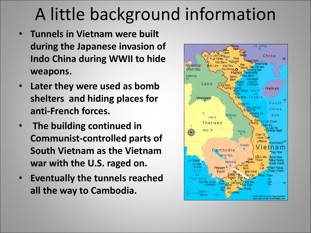 Tunnels at Cu Chi, Vietnam - ppt download