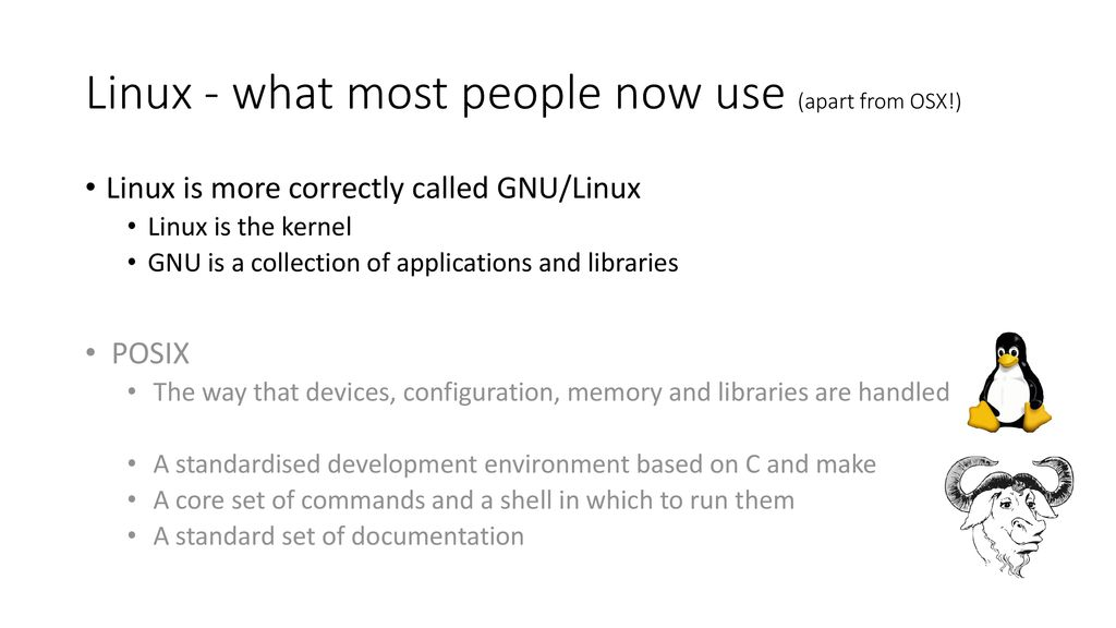 An introduction to the Linux environment v - ppt download