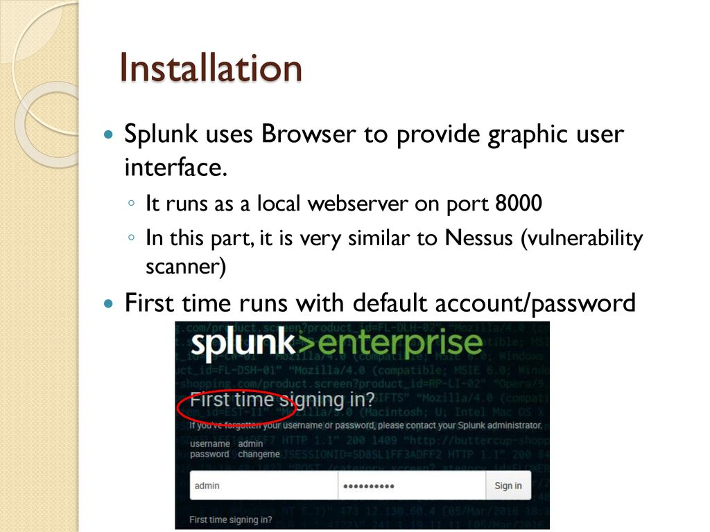 Introduction of Incidence Response Software - Splunk - ppt download