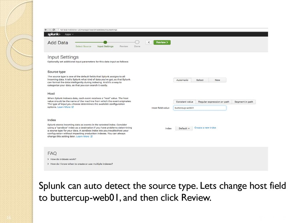Introduction of Incidence Response Software - Splunk - ppt