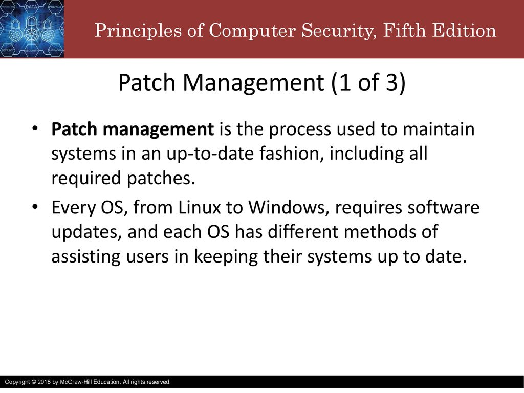 patch management process in linux