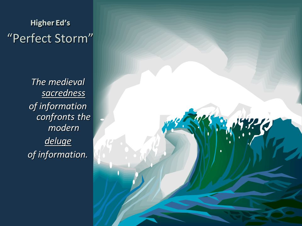Higher Ed's Perfect Storm