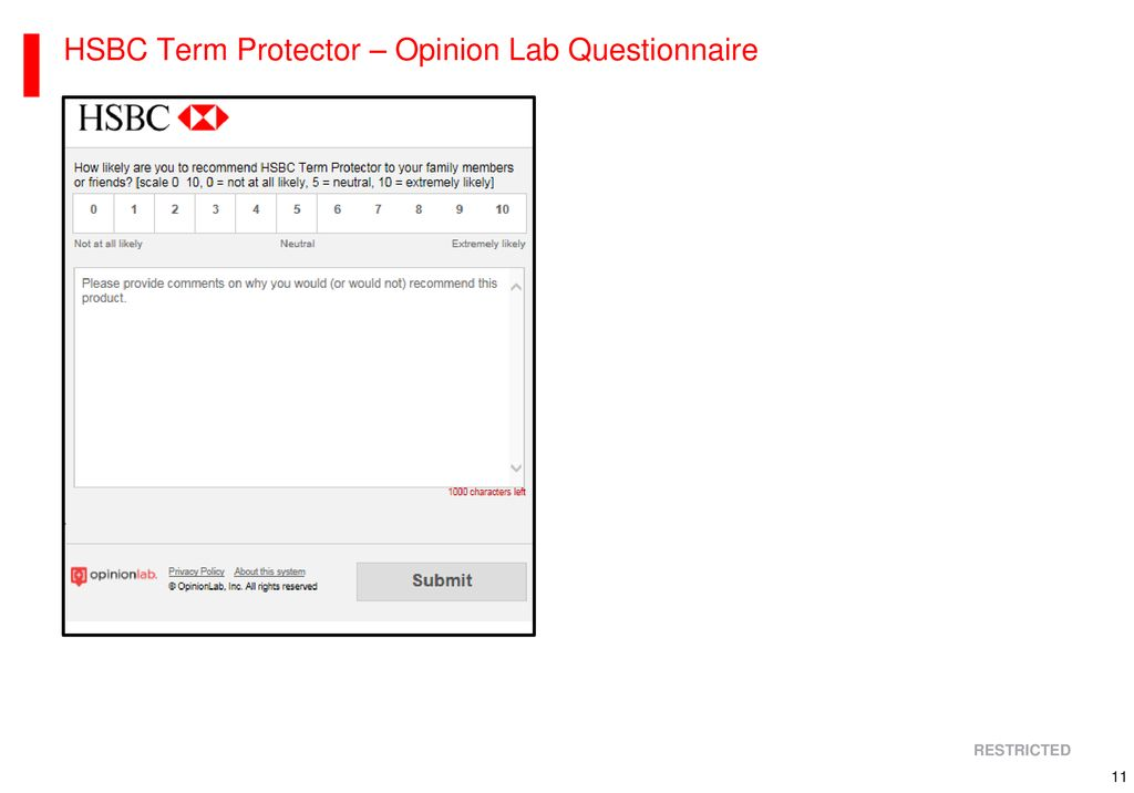 Get a HSBC Term Protector Plan within 5 Minutes Online