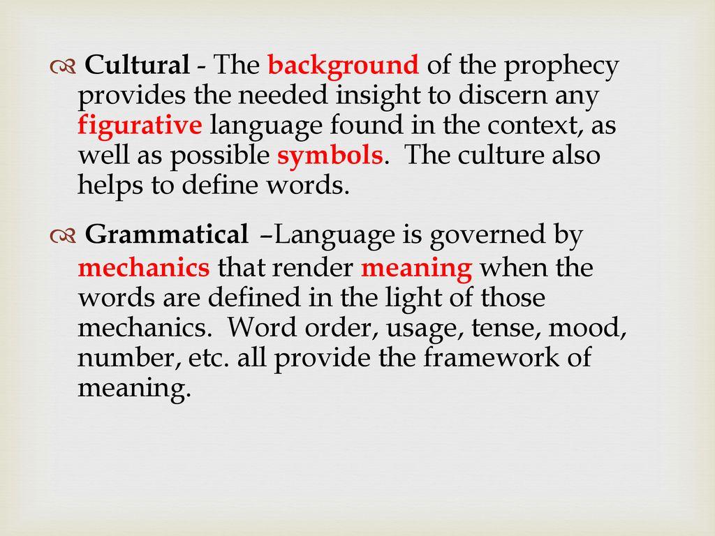 language mechanics definition