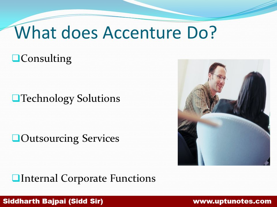 What does Accenture Do Consulting Technology Solutions