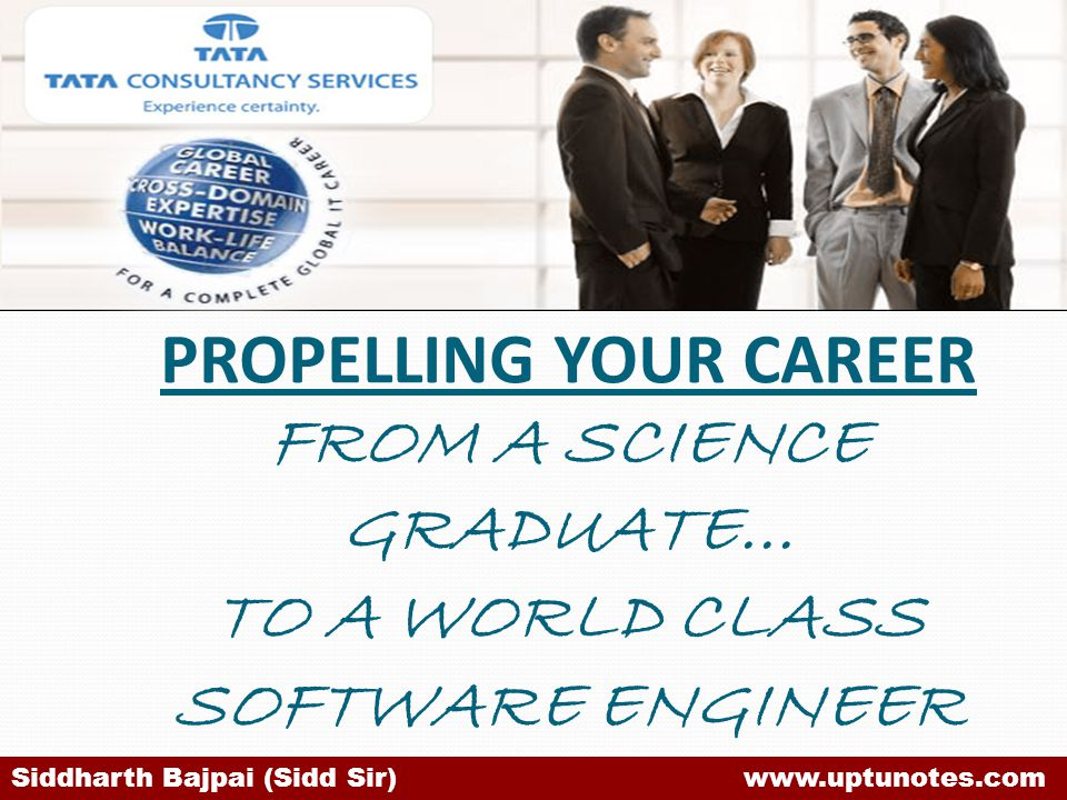 PROPELLING YOUR CAREER FROM A SCIENCE GRADUATE… TO A WORLD CLASS SOFTWARE ENGINEER
