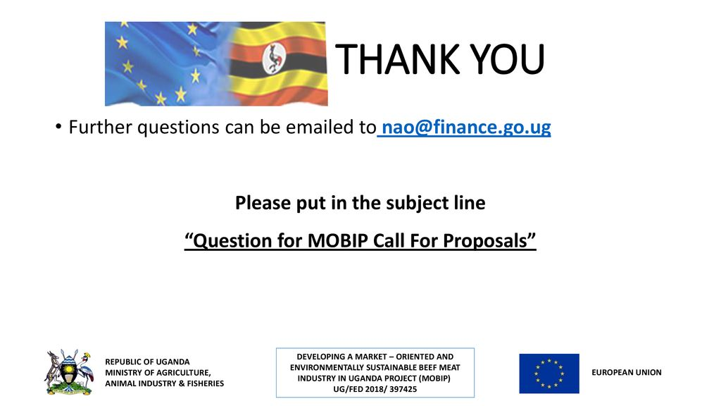 Call for Proposals (CfP) Information Session – 19th November