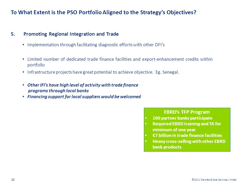 To What Extent is the PSO Portfolio Aligned to the Strategy's Objectives