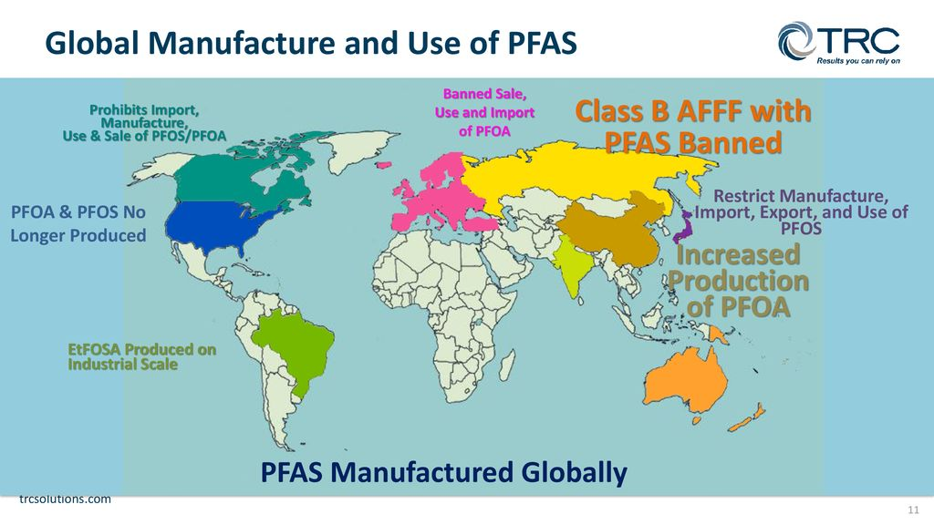 GENERAL OVERVIEW OF PFAS PER- AND POLYFLUOROALKYL SUBSTANCES - ppt