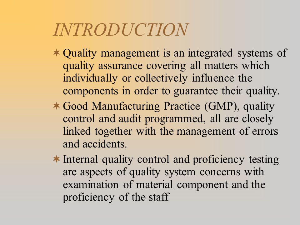 QUALITY ASSURANCE IN THE BLOOD BANK - ppt video online download