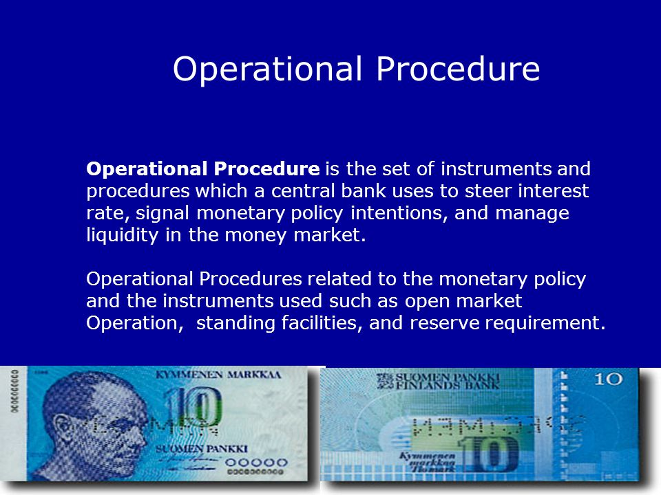 Operational Procedure