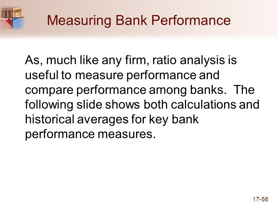 Measuring Bank Performance