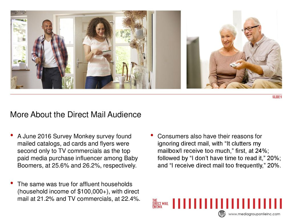Direct Mail Defies Logic - ppt download