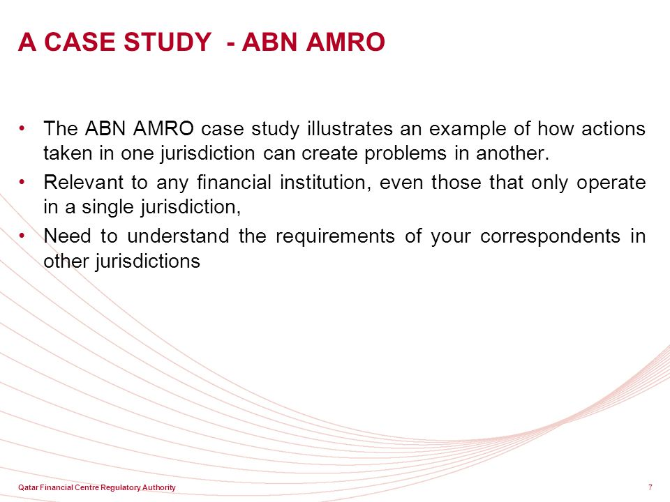 ABN AMRO Case Study: Overview