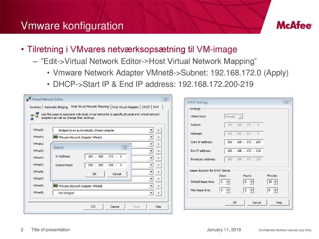 Vmware Virtual Network Editor