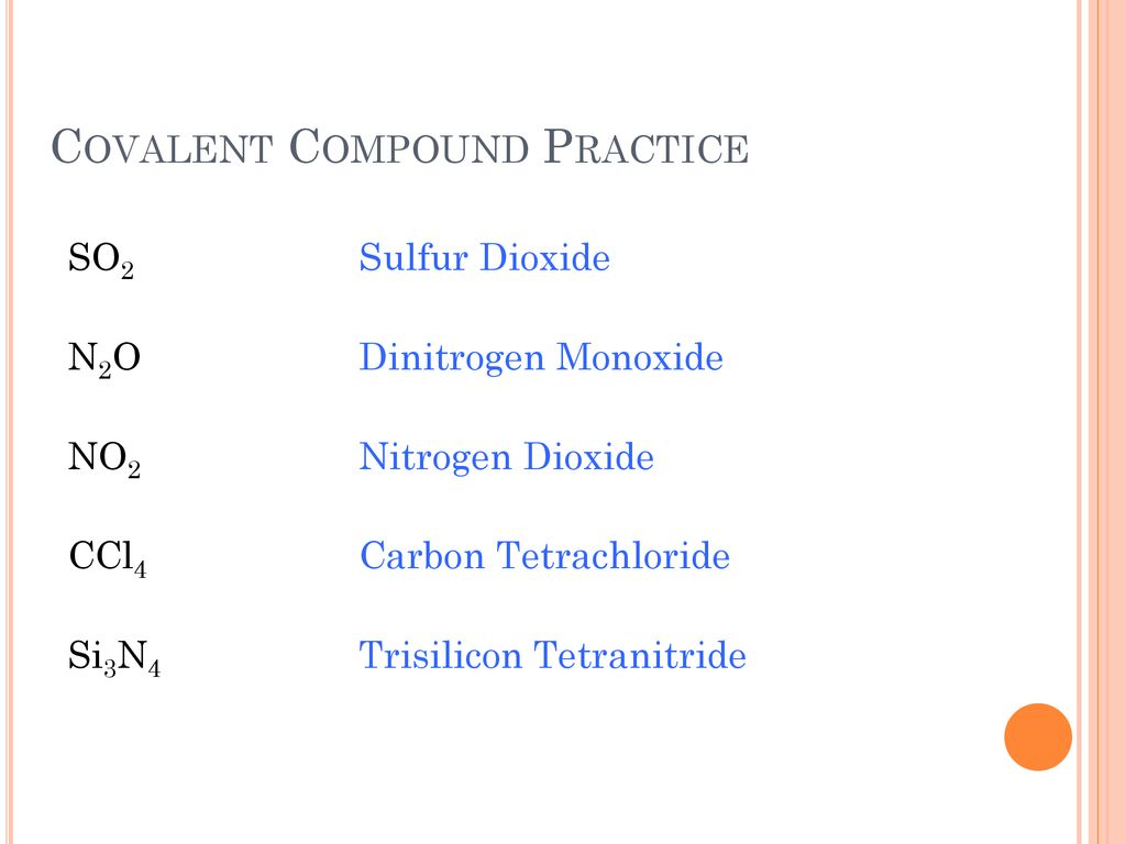 Review Ionic Compounds Ppt Download