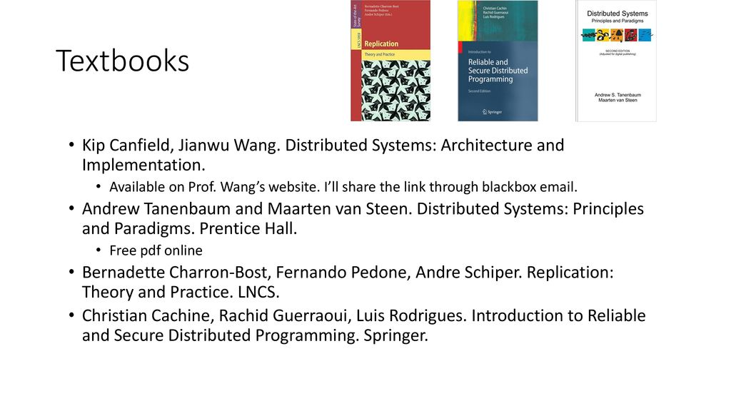 Systems textbook pdf distributed
